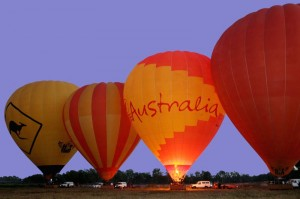 Hot Air Balloon Rides Australia